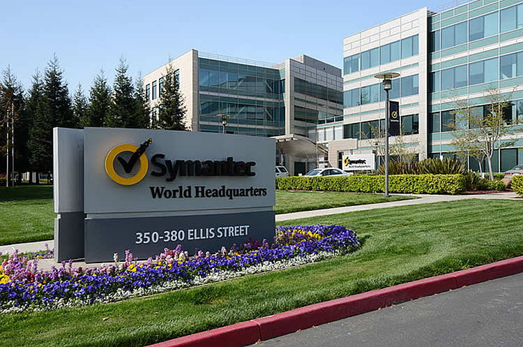 Siege Symantec Californie